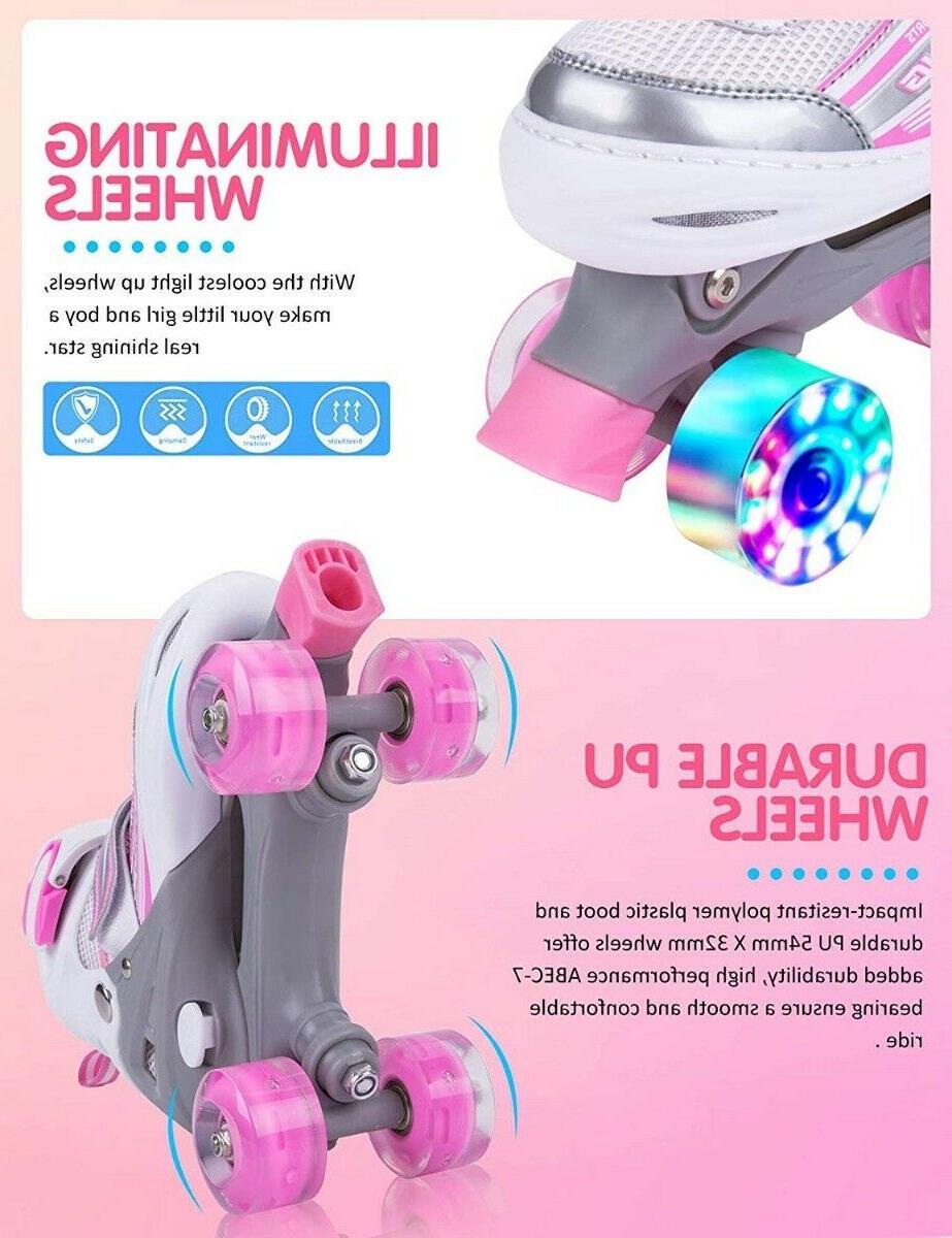 Kuxuan Roller Skates for ~Light Up Wheels