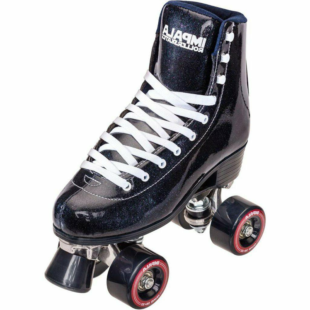 sidewalk quad skate roller skates midnight size
