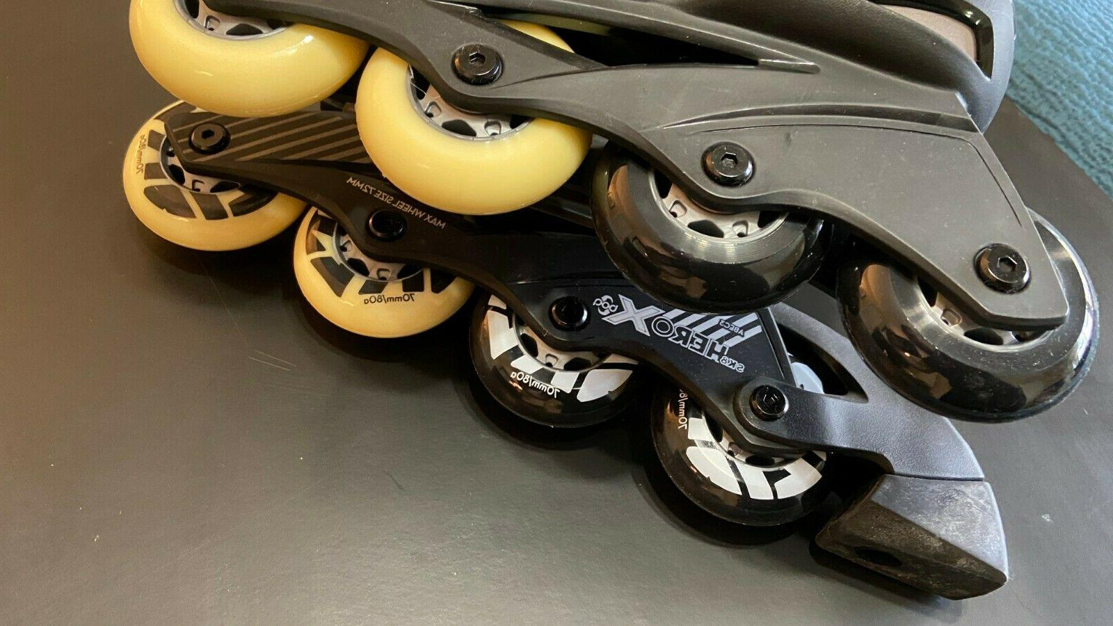Adjustable Size 11-2 Inline Skates Rollerblades