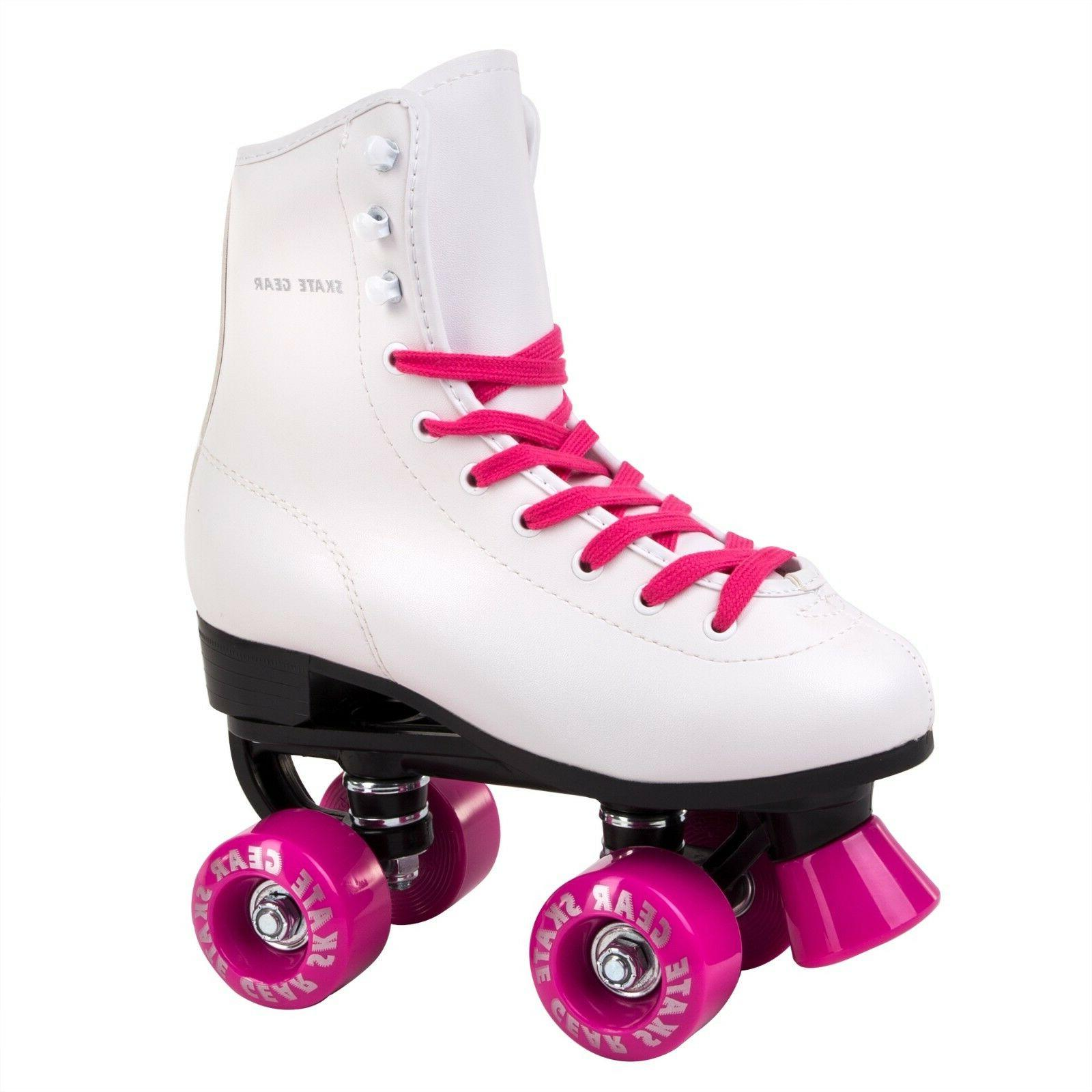 Skate Gear Soft Boot Roller Skate Retro High Top Indoor Outd