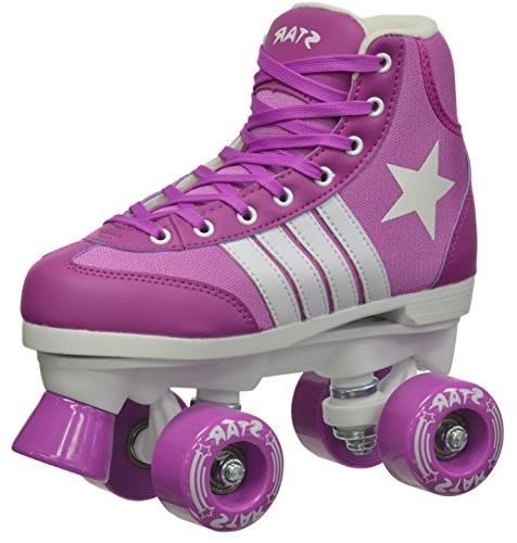 Epic Indoor/Outdoor Classic High-Top Quad Skates
