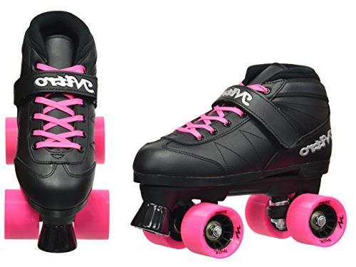 Indoor/Outdoor Quad Speed Skates