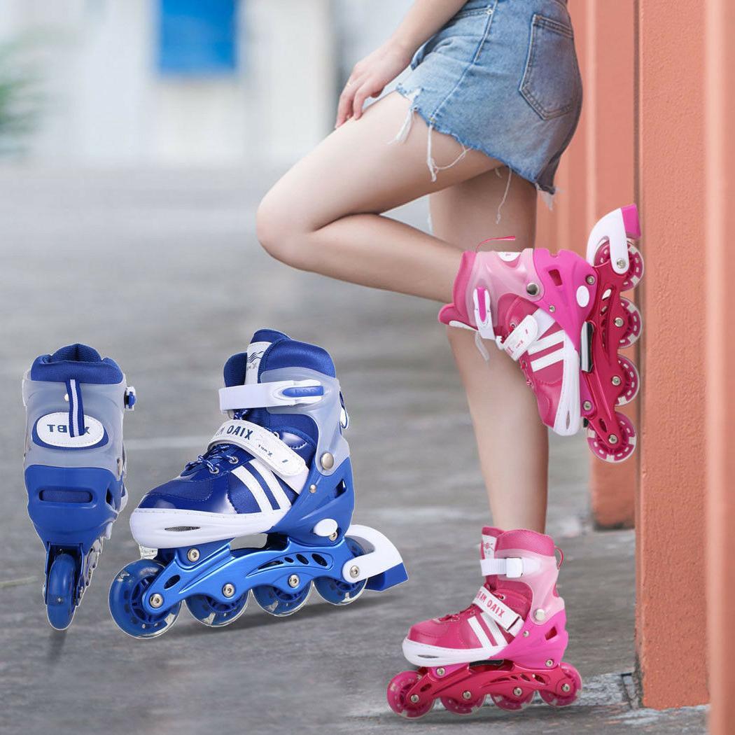 Inline Skates Girls Boys Roller Blades For Kids Roller blade