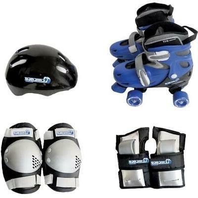 skates boys adjustable quad skate combo