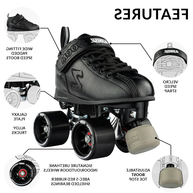 Zoom Roller Skates by Crazy Quad Speed Skates
