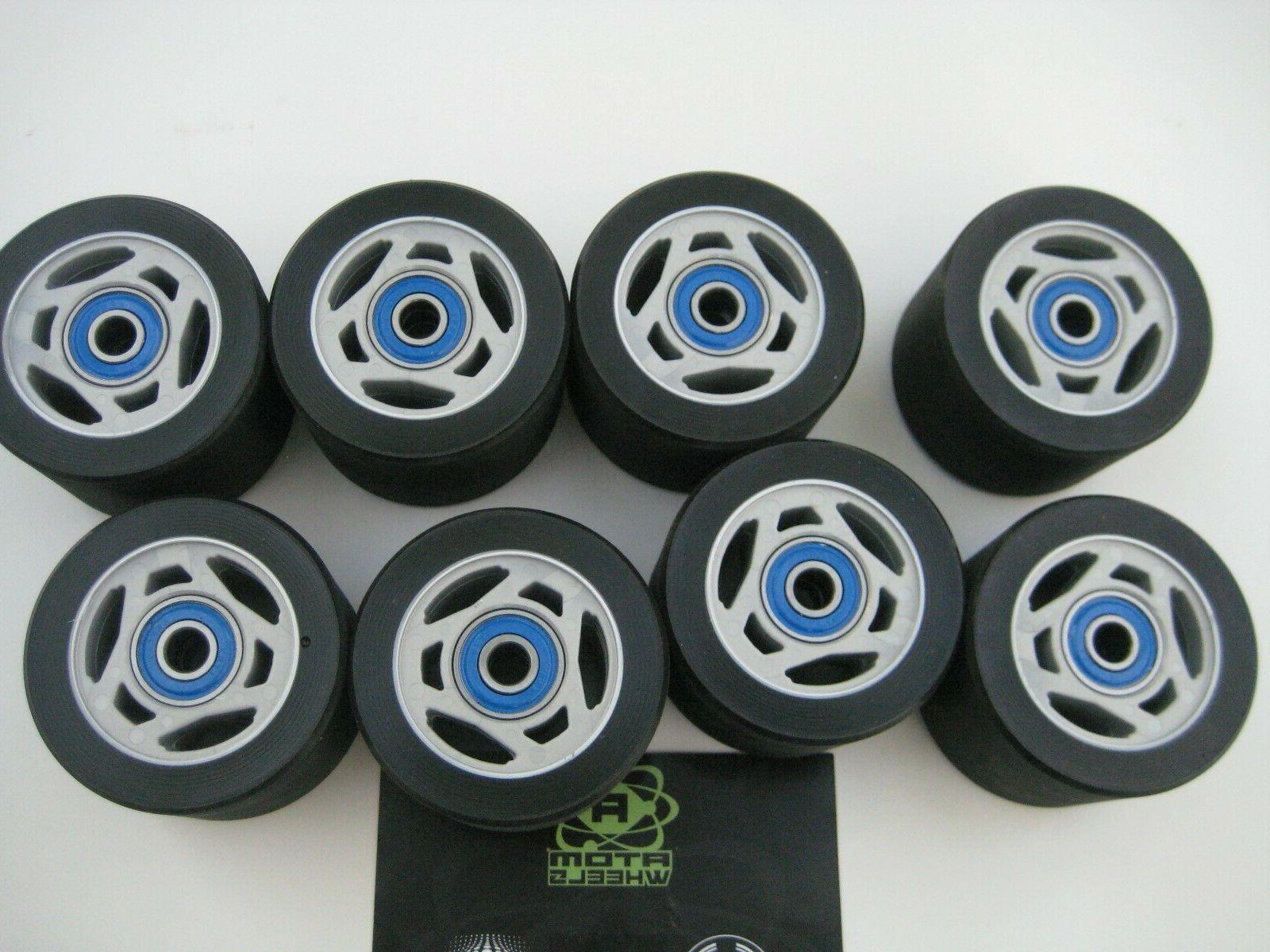 ATOM DERBY WHEELS 8 NEW BEARINGS LYNX speed