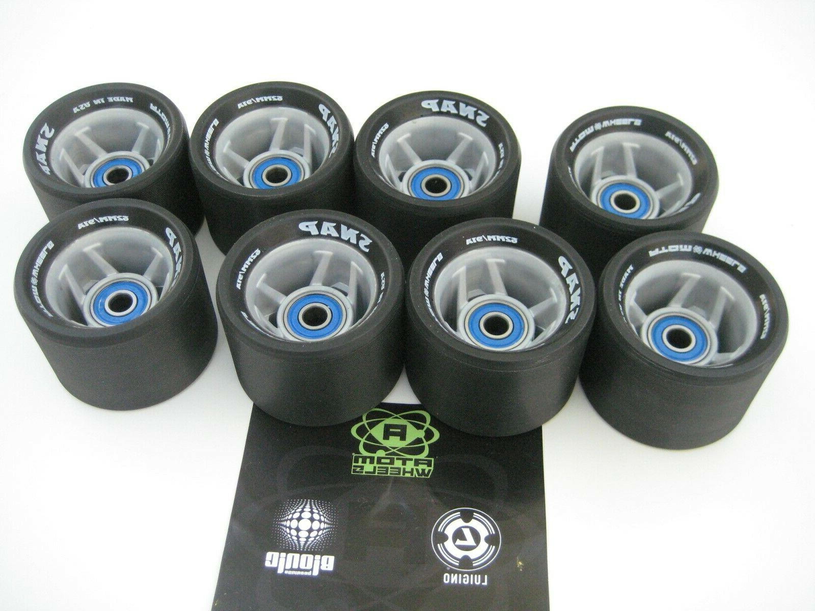 ATOM SNAP DERBY WHEELS 8 NEW LYNX speed 7