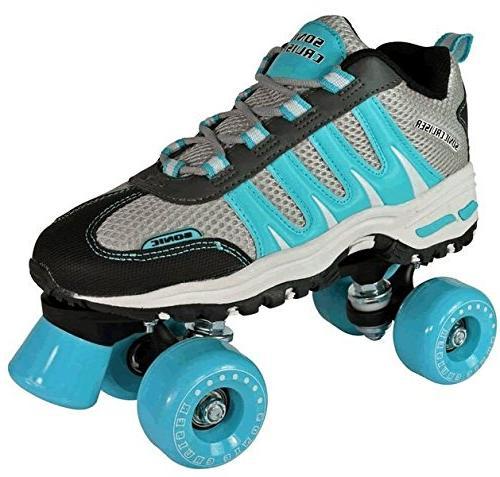 sonic cruiser teal sneaker skates