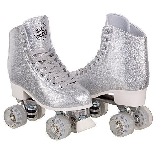 sparkly roller skates