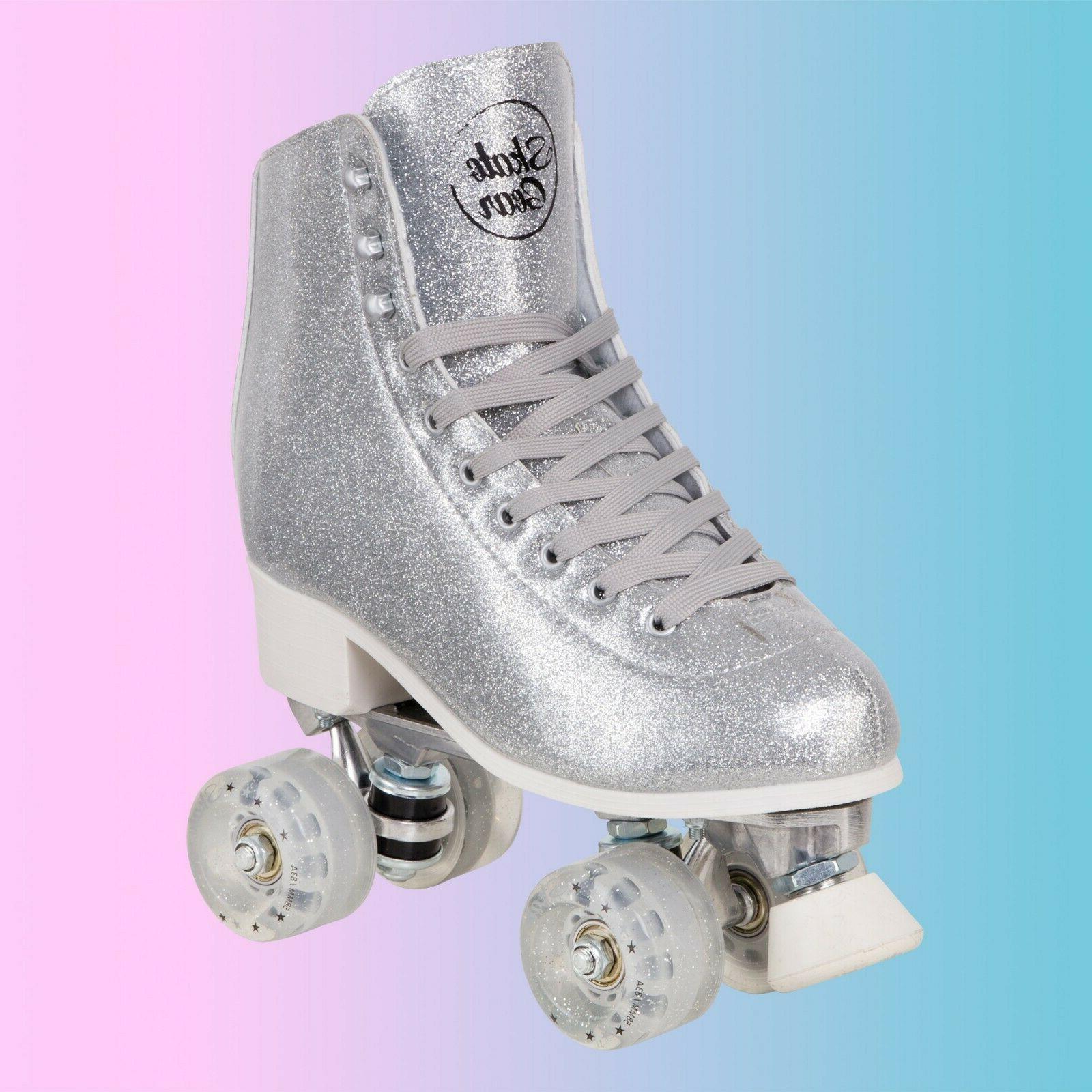 Skate Glittery Roller Adults Summer Ride
