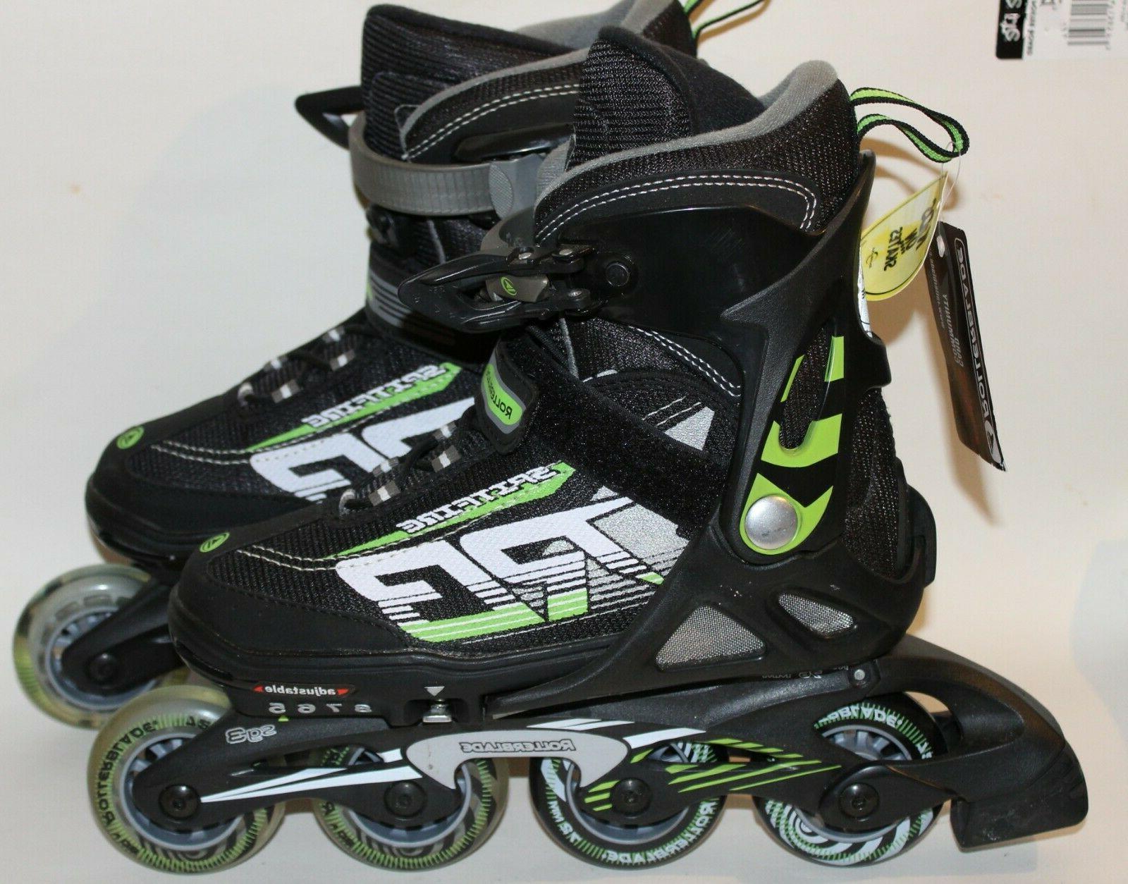 spitfire xt adjustable kids inline skates y5