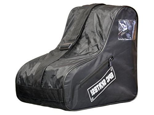 Epic Skates Standard Black Skate Bag, One Size