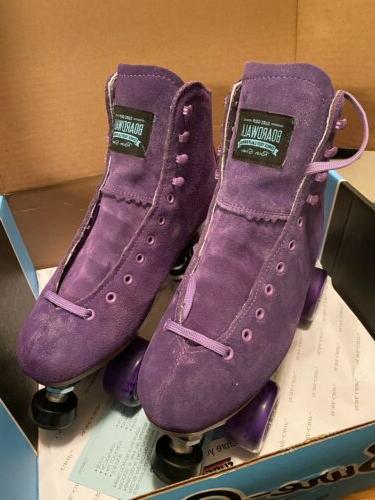 Sure Boardwalk Skates Size Purple With