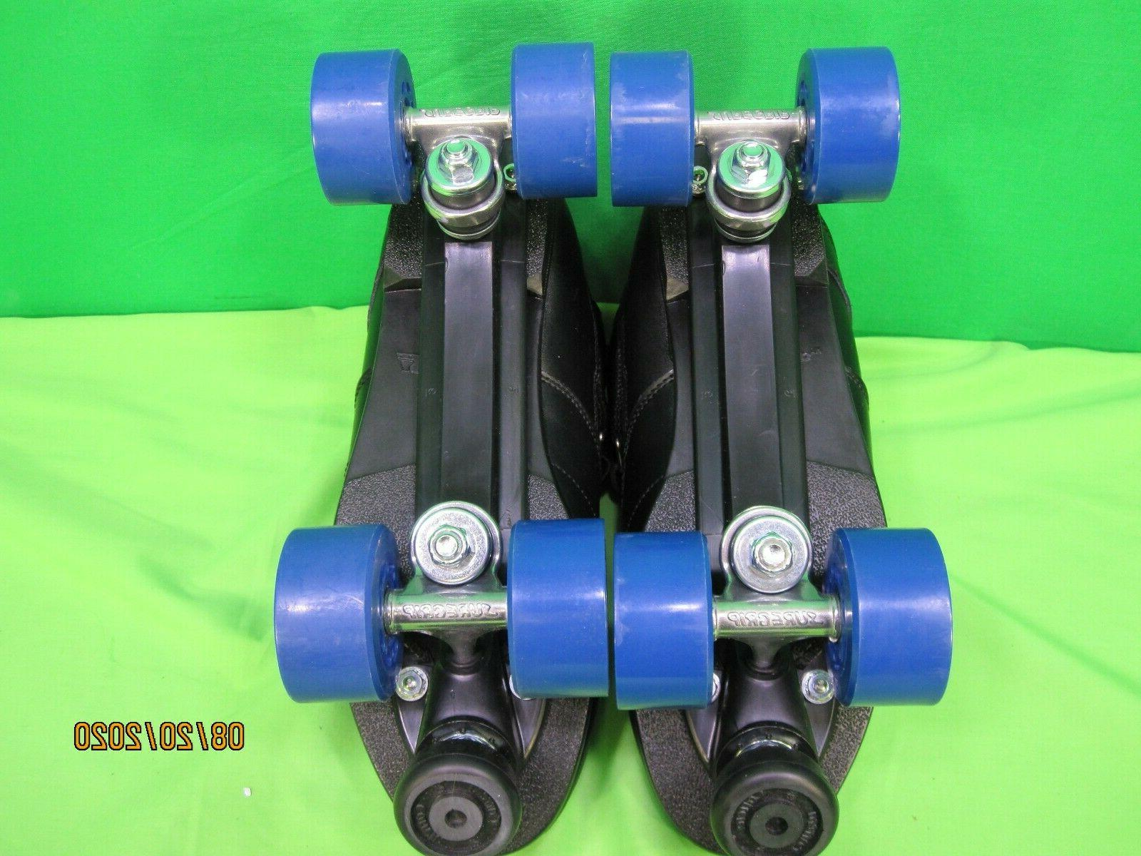 Suregrip Rebel Skates Black SIZE