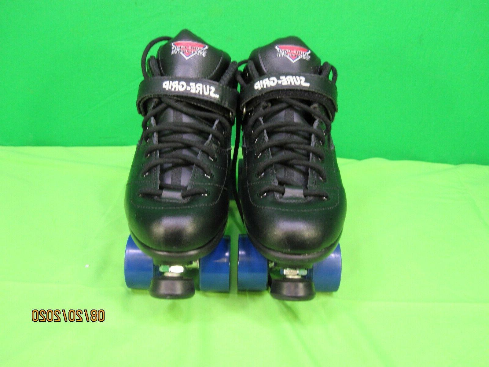 suregrip rebel roller skates black size 13