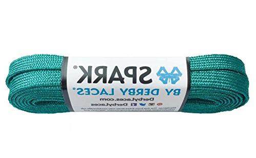 teal spark shoelace