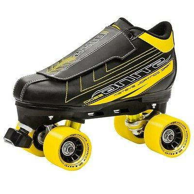 Roller Men's 5500 Quad Skate, Black/Yellow,