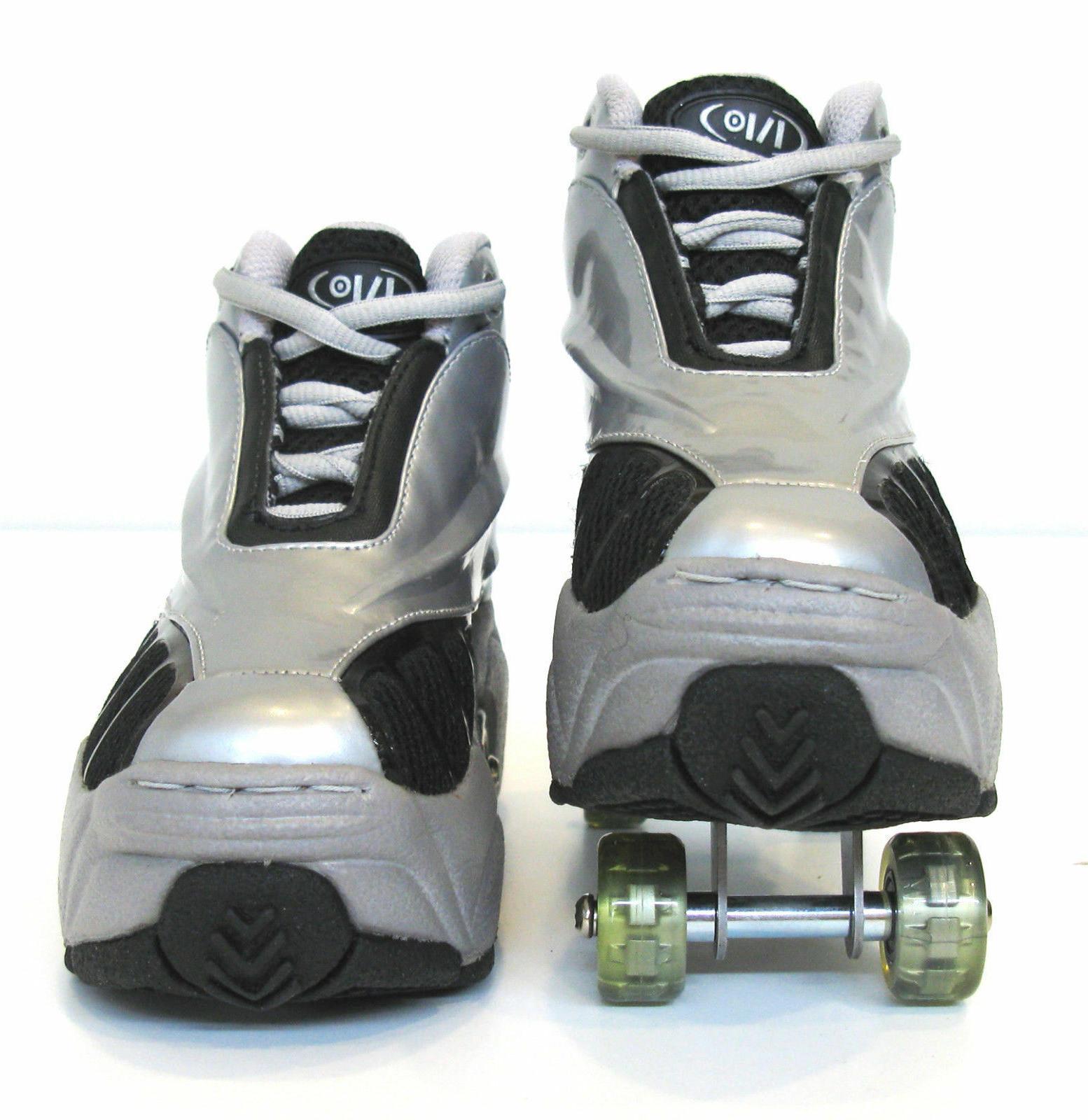 UNIQUE Skates Silver/Grey SHIP