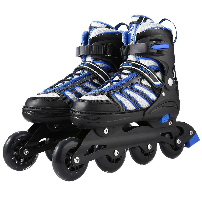 unisex adult adjustable inline skates roller blades