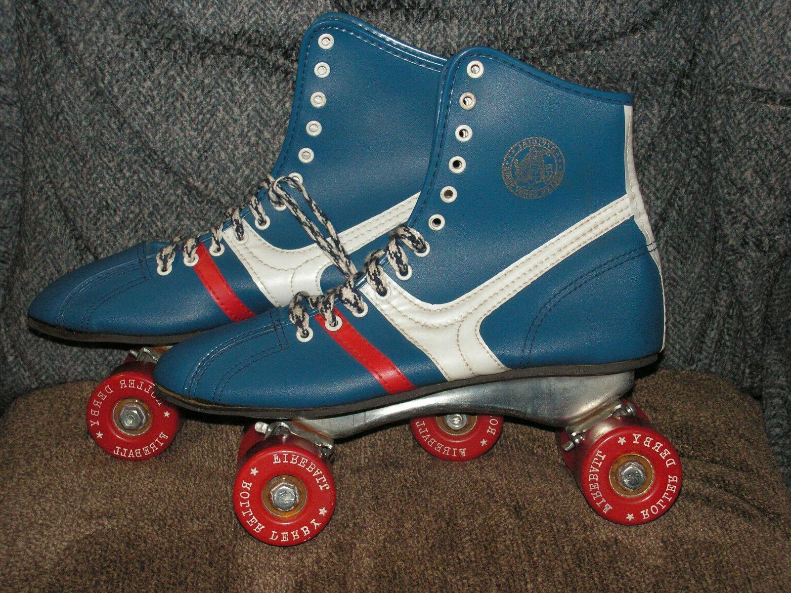 "Vintage 70s ""Fireball"" Skates Womens 6"