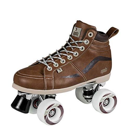 vintage brown neat quad roller