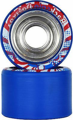 Speed Skate Wheels - VNLA Backspin Deluxe Blue 88A 62mm X 42