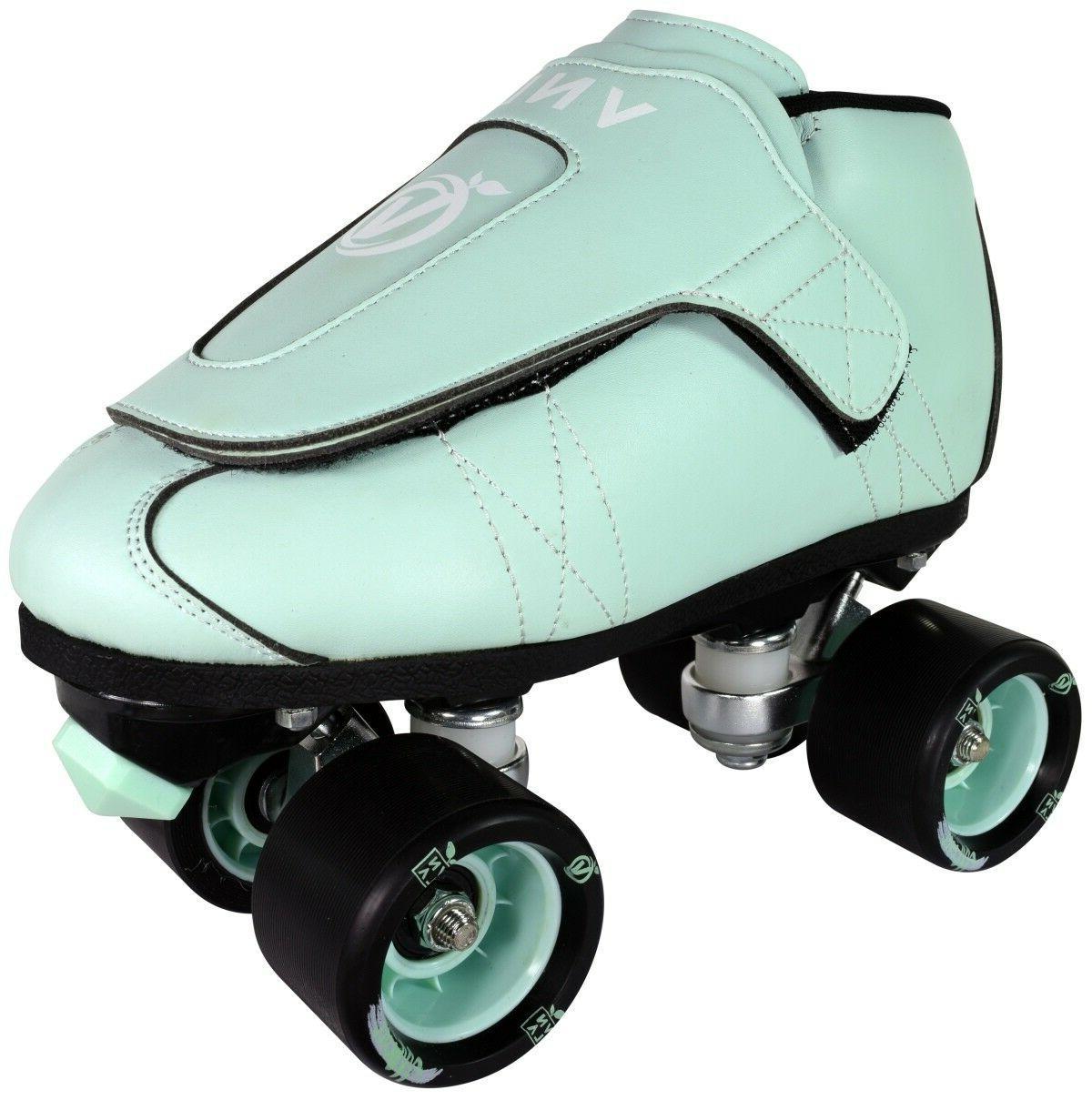 New VNLA Junior Jam Mint Roller Skates