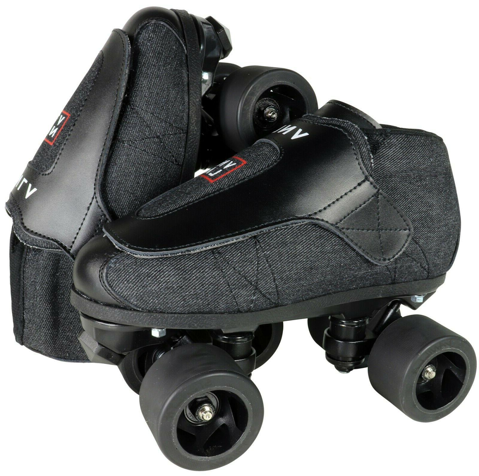 VNLA Stealth Jam - Quad Roller Skate - Indoor/ Outdoor - Men