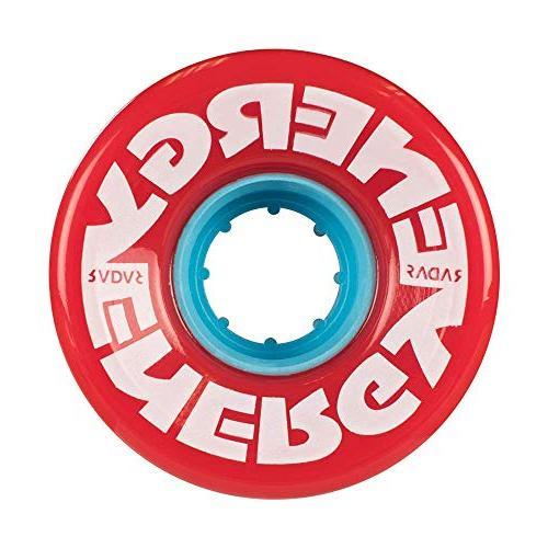 Radar Wheels - 57 - Wheels of 31mm 57mm Quad Wheels   Red