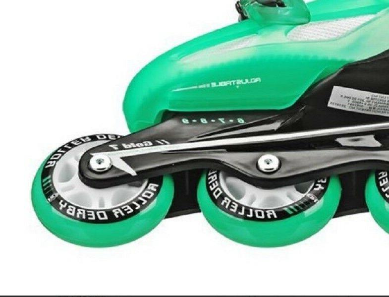 Women Roller Girls Outdoor Sports Fun Derby Size 6-9 Wheels