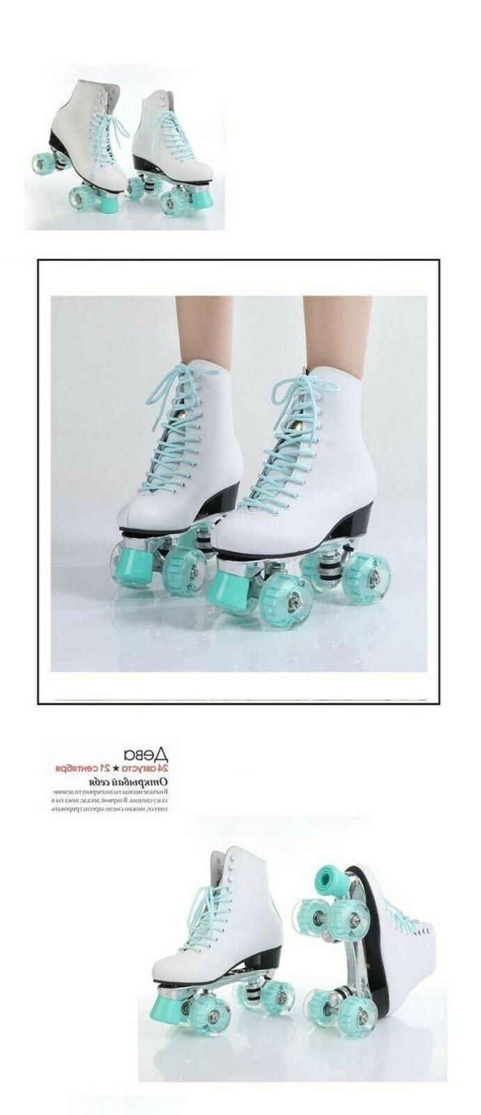 Womens Row Krafts PU Skating Shoes