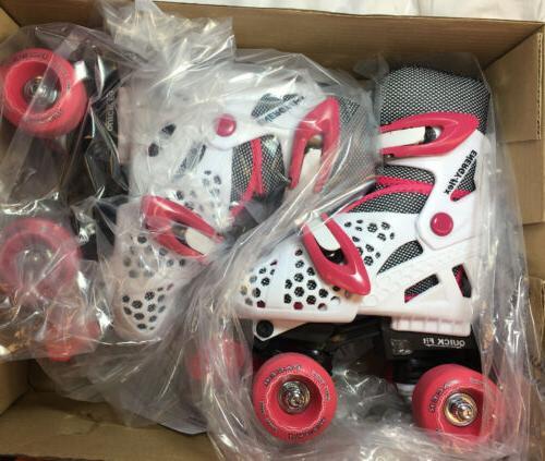 xt70 adjustable molded quad skate girls