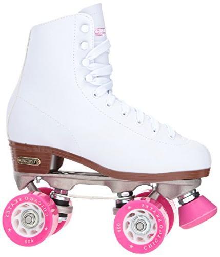 Chicago Skates – White Skates -