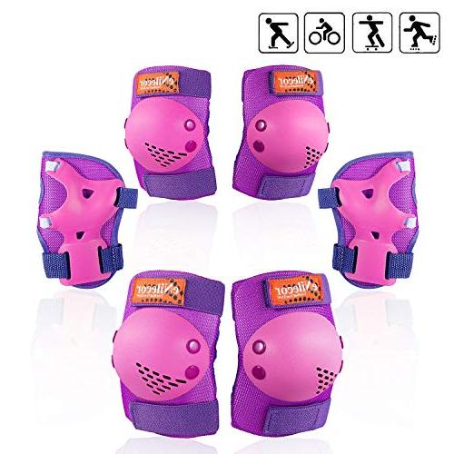Skates Cycling Knee Pads Elbow Protective for BMX Bike Skatings