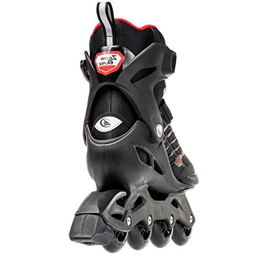 Rollerblade 888341063089 Zetrablade Men's Black and Red, Inline Skates