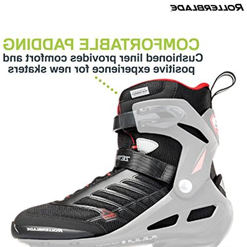 Rollerblade Zetrablade Adult Fitness Inline Skate, Black and Inline