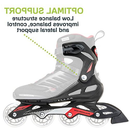 Rollerblade Adult Fitness Inline Black Performance Inline