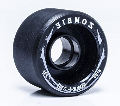 Sure-Grip Zombie Wheels Low 59mm 92a - Black Hub