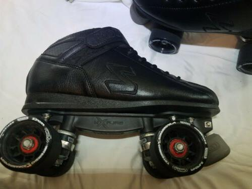 Crazy Skates Speed Roller Skates High Performance Speed Men 8.5 New