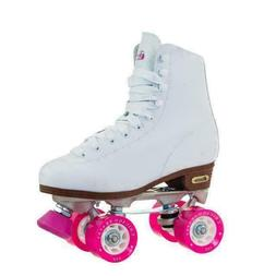 ladies rink roller skates white us 8