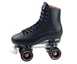 leather lined rink skateblack 8