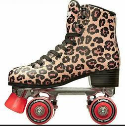 Impala Leopard Quad Roller Skates   Women's Size 9 / 40  