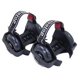Webetop Kids Lighted Heel Skate Rollers Adjustable Two Wheel