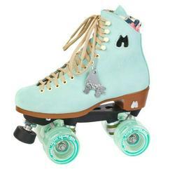 Moxi Lolly Indoor Outdoor Quad Roller Skates Mint / Floss -