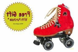 Moxi Roller Skates - Lolly Poppy Red outdoor skates
