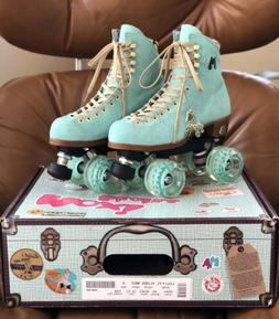 Moxi Lolly Roller Skates Size 6 - Floss Blue, New In Box