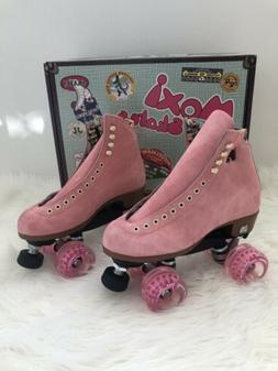 Moxi Lolly Roller Skates Strawberry Pink Size 7  Brand New