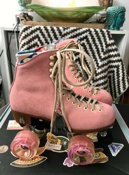 Moxi Lolly Roller Skates Strawberry Pink💞Size 6.NIB Read