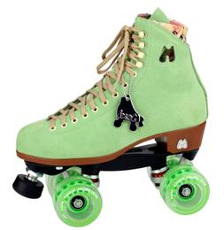 Moxi Roller Skates Lolly Skate Honeydew Lime - Size 5