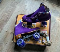 Moxi Lolly Taffy Purple Roller Skates Size 8